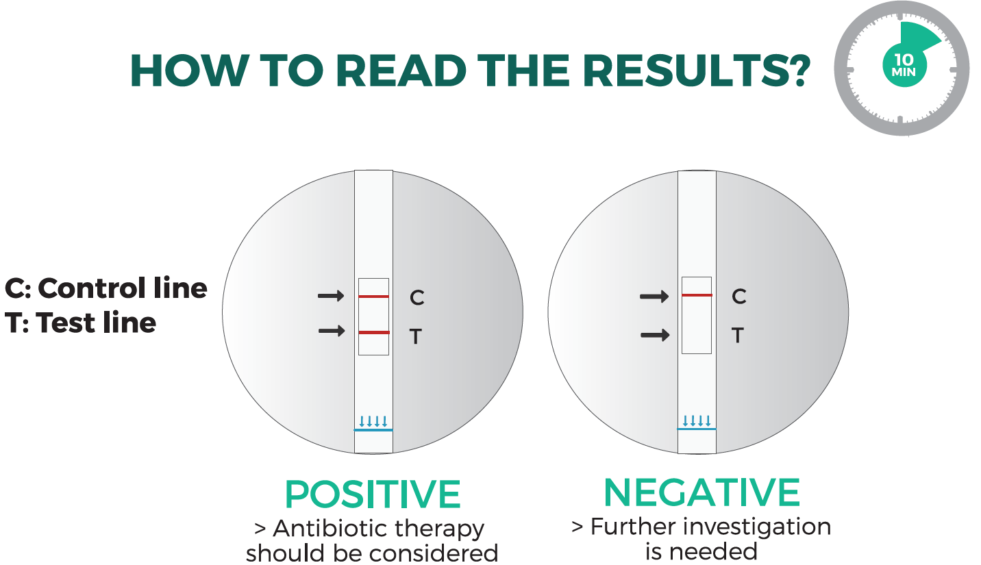 How to read the results - NADAL Chlamydia Test